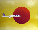 Air France au Japon - 81x100 cm
